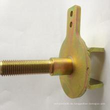 Fabricated Sheet Metal Kundenspezifische Stahlunterstützung