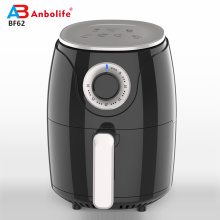 2.4L Multi-fungsional Non Stick Air Fryer BPA gratis