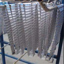 Coussin de refroidissement de batterie en aluminium argenté pour vertical