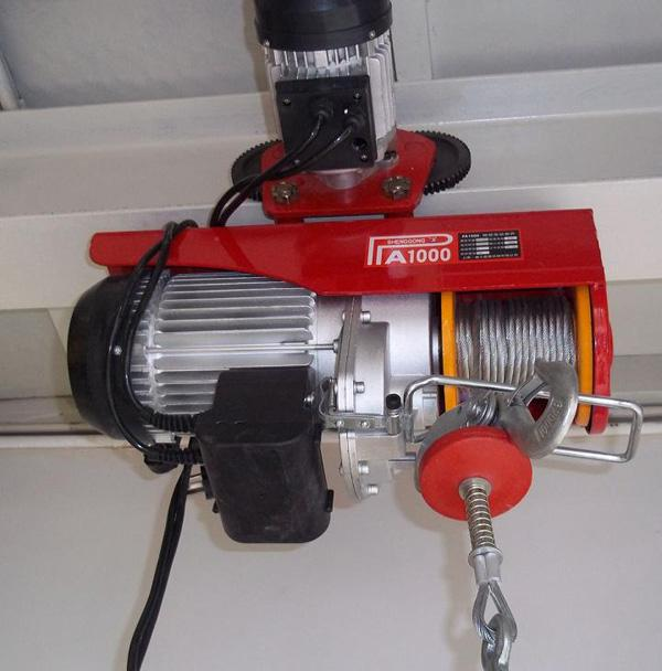 mini wire rope hoist 200kg