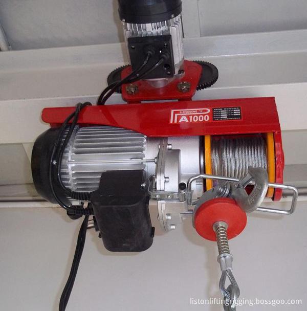 pa500 mini electric hoist winch