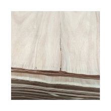 okoume veneer 0.25mm thick natrual timbers for decoration plywood