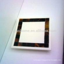 Canosa seashell bathroom collection MOP mosaic seashell towel holders