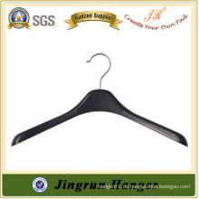 Fabrik Preis Gebrauch Kleidung Kleiderbügel Schwarz Kunststoff Pullover Kleiderbügel