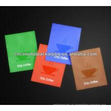 bolsa de café / saquinho de café / sacos de polietileno personalizados