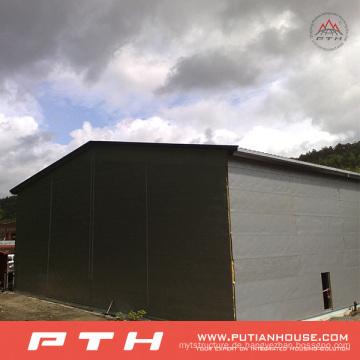 CE BV genehmigte Fertigstahlkonstruktion für Lager