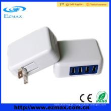 Travel Adapter 4 usb ports eu e uk usb carregadores para celular tudo em um
