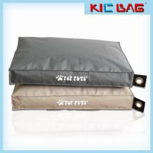 Sala de estar cuadrado bean bolsa de impresión de animales de compañía doggie bean bag