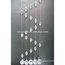 2015 heiße Verkäufe dekorativer Kristallvorhang für Tür