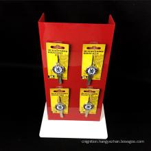 Custom POP Design Acrylic Display Rack Peg Hook Counter Display For Pendant/Cosmetic