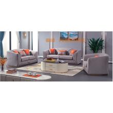 Canapé en tissu de luxe léger Combinaison de canapé simple