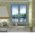 Hot Sell Aluminium Window with Double Toughened Glass (FT-W135)