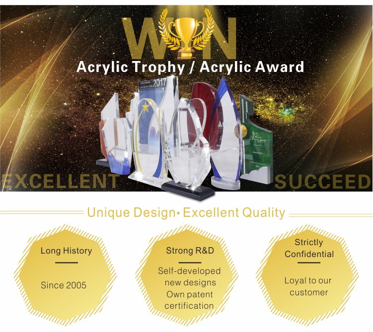 Metal trophy corporate trophies and awards plaques for trophies
