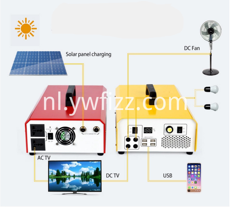 Solar Outdoor Power Generation System