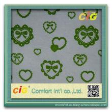 Forme a nuevo diseño colorido los productos caseros coloridos la multitud de la materia textil polivinílica / tela de algodón