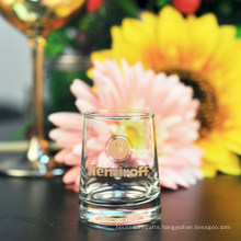 Shot Glass with Gold Decal Printing