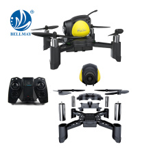 DIY Mini Pocket Racing Drone Headless Mode Nano LED RC Quadcopter Altitude Hold Good for beginners
