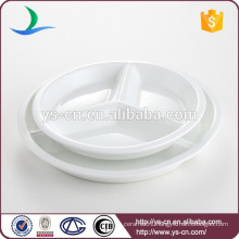 Factory price round porcelain dinner plate