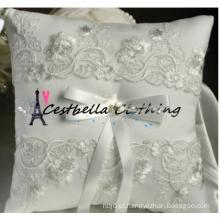 Almofada de alça quente almofada de aluguel de aluguel de casamento, fabricante de almofadas de casamento, acessórios de casamento anel de travesseiro