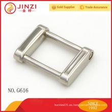 2016 nuevas llegadas metal pin hebilla, pequeñas placas de metal