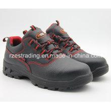 2016 China Mens Steel Toe sapatos de segurança, sapatos de mineração corte do meio