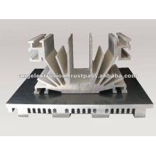 Aluminium Section for Heatsink