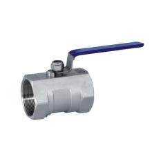 Шаровой клапан с резьбой из нержавеющей стали, односекционный