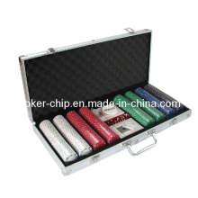 400PCS Покерный чип в квадратном алюминиевом корпусе (SY-S23)