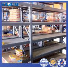 Pre galvanized medium duty multi-layer shelving system