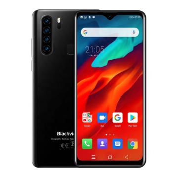 Blackview A80 Pro Fingerprint Unlock 6.49 Inch Screen Slim Global 4G LTE Bands celular android 64g
