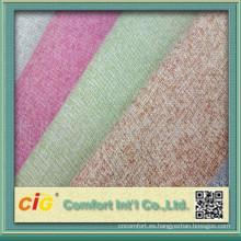 terciopelo tejidos 80% algodón 20% poliester muestra gratis