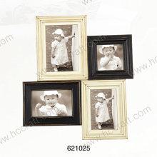Деревянная Рамка для фотографий с помощью лазера в несколько открытие