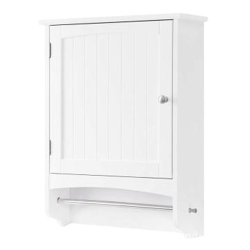 Hot White 2 Ladders Bathroom Cabinet Storage