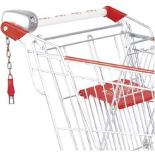 Casting Lock/supermercado cerradura/moneda cerradura de la moneda para carro de supermercado