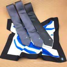 China al por mayor diseño personalizado Digital Print 96 x 96 cm bufandas cuadradas con corbata a juego