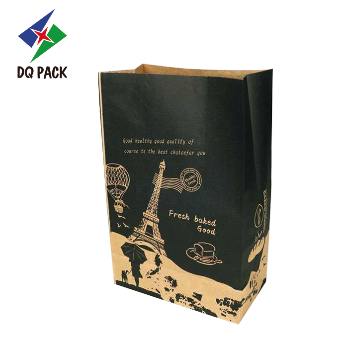 Kraft Paper Bag Plastic Paper Bag Fresh Baked Good