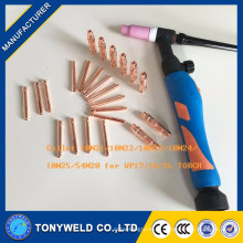 Accessoires de soudage Tig 10N21 collet pour torche wp26