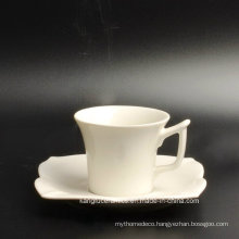 Special Shape Cup and Saucer Porcelain Tea Set