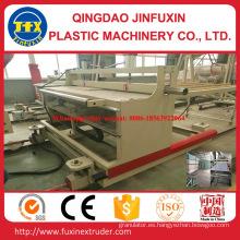 Maquinaria de la hoja de la espuma de la corteza de la construcción del PVC