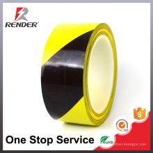22m Acessórios de acessórios eletrônicos Faixa de precaução industrial barata Etiqueta de risco Adhesive Tape