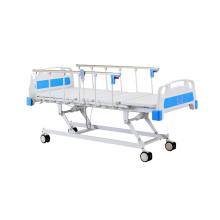 Lit d'hôpital électrique à trois fonctions d'équipement médical