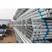 Fábrica GI Rodada ss400 tubo de aço galvanizado para venda quente