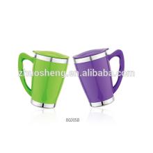 Double Wall Travel Mug,Coffee Mug,Plastic Mug