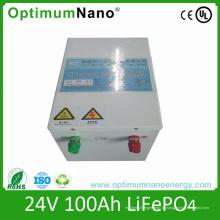 Горячая Продажа 24В 100ач lifepo4 блок батарей для ИБП
