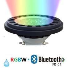ETL Bluetooth Dimmable RGBW LED AR111 / PAR36 / G53 IP67outdoor Spotlight
