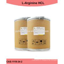 Fabrication de la poudre de l-arginine Kosher / Halal; Prix l-arginine