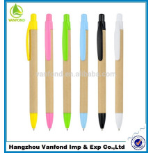 luxo e fábrica direta kraft reciclado papel eco amigável caneta