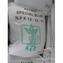 NPK (12-12-17+2MGO) with SGS Test Report Including The Heavy Metal Inspection