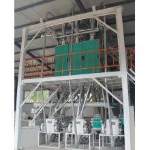 40tons de equipamento de processamento de trigo mourisco