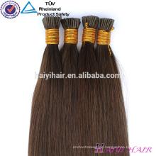 Großhandelspreis Remy Italienische Keratin Doppel Gezogen Vor Verklebte Haarverlängerung